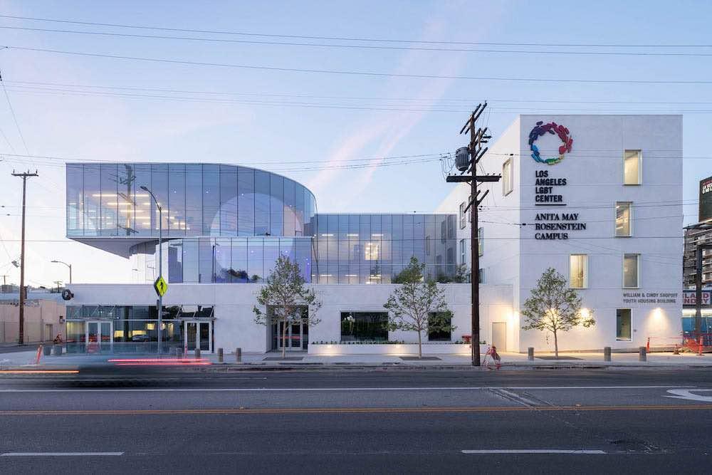 Anita May Rosenstein Campus at LA LGBT Center in Hollywood - Photo by Iwan Baan, courtesy of Leong Leong.
