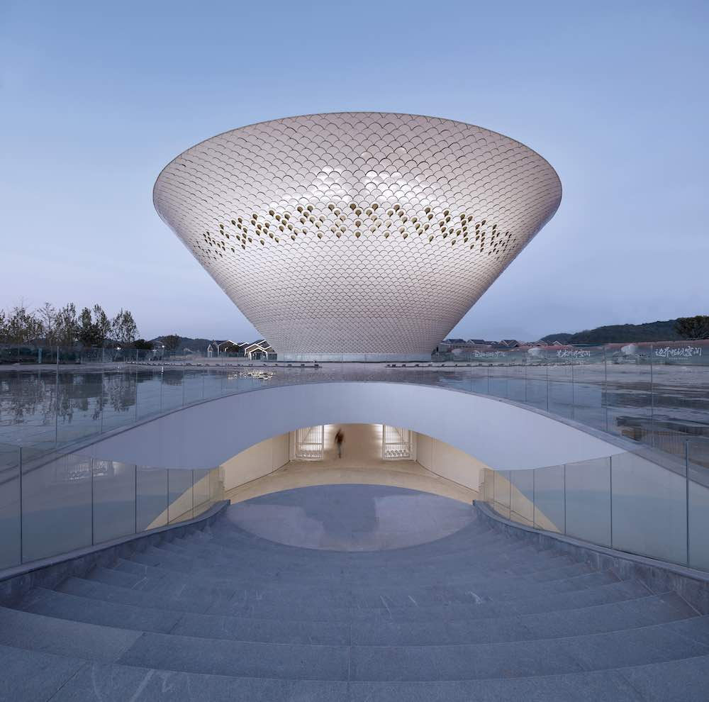 Art Center of Jingdezhen Ceramic Cultural Tourism Town by Shanghai Urban Architectural Design.