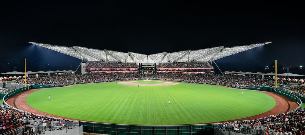Estadio Diablos Rojos by FGP Atelier - Photo by FGP Atelier.