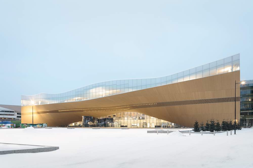 Helsinki Central Library Oodi by ALA Architects - Photo by Tuomas Uusheimo.