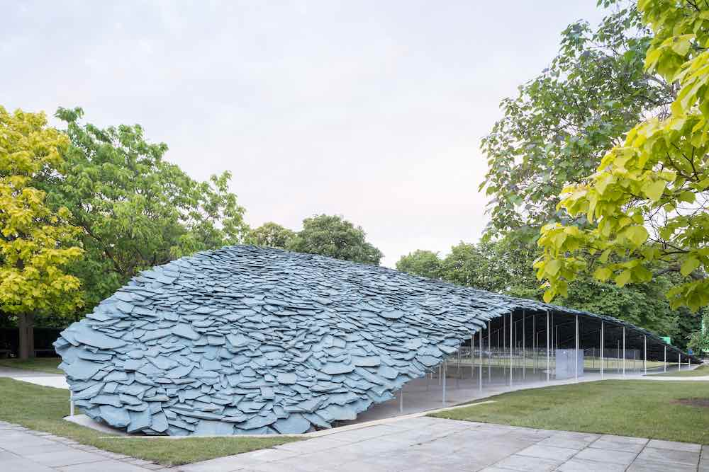 Serpentine Pavilion 2019 by Junya Ishigami - Photo by Norbert Tukaj, © Junya Ishigami + Associates.