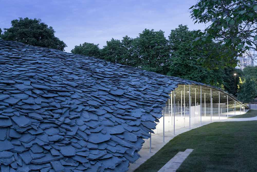 Serpentine Pavilion 2019 by Junya Ishigami - Photo by Norbert Tukaj, © Junya Ishigami + Associates.
