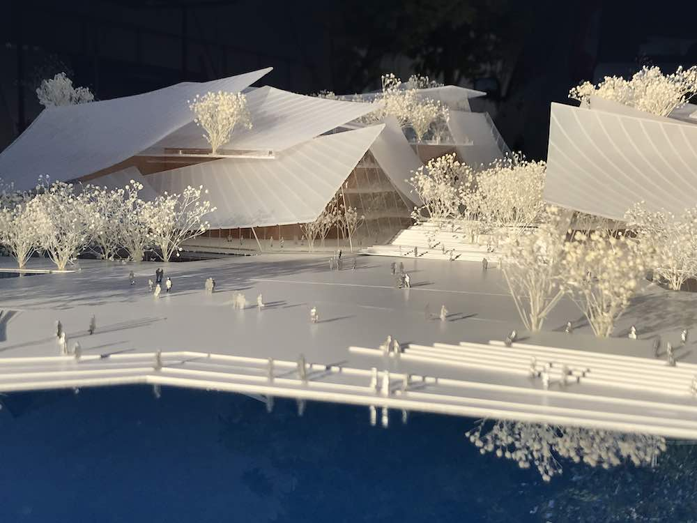 Model of Yiwu Grand Theater by MAD Architects - Photo by MAD Architects.