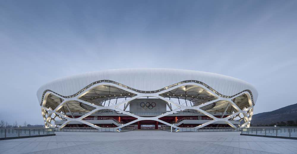 Zaozhuang Stadium by Shanghai United Design Group - Photo by United Design Group.