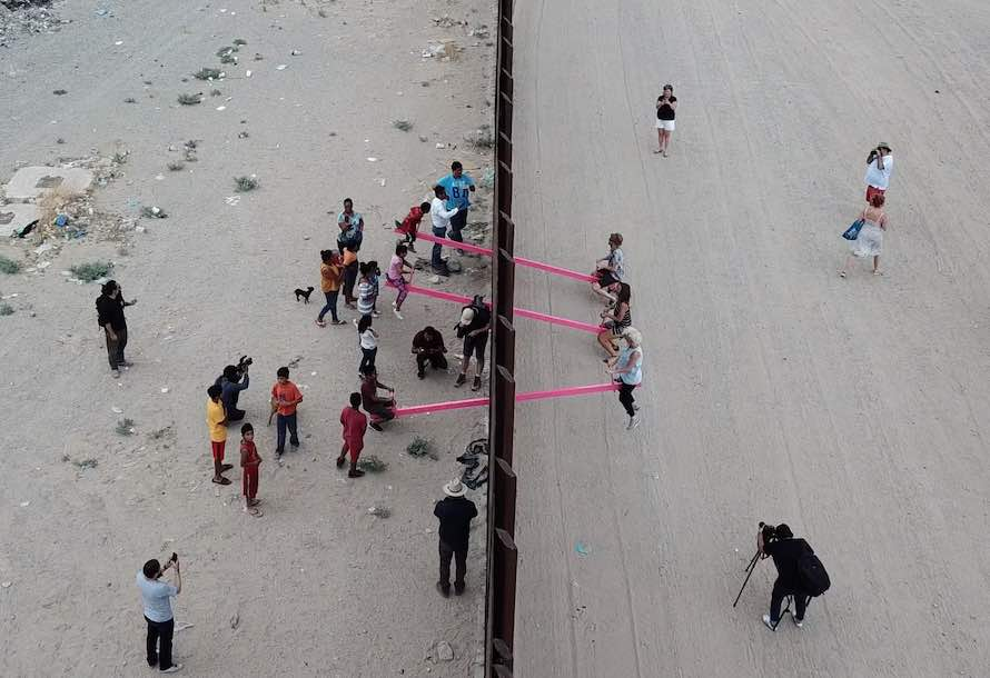 US-Mexico border seesaws!