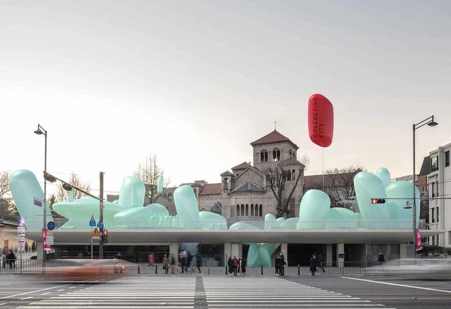 Inflatable Urban Garden