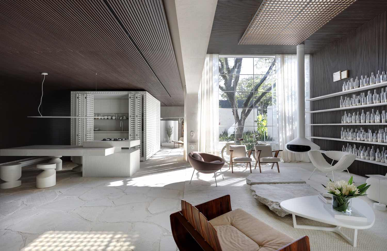 Casa Dende Duratex by NS+ Studio - Photo by Denilson Machado.