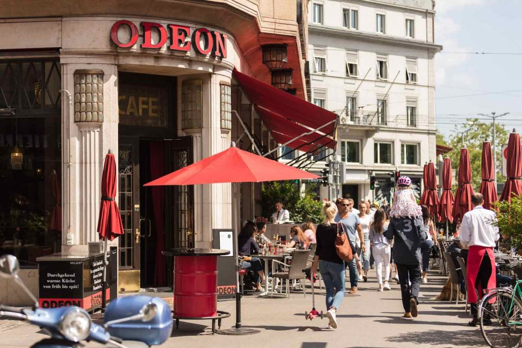 Café Bar Odeon - Courtesy of Fred Tschanz