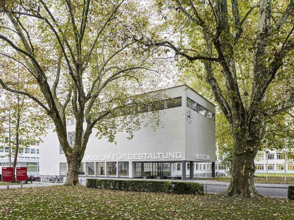 Museum für Gestaltung Zürich, Ausstellungsstrasse, building - © Photo by Georg Aerni.