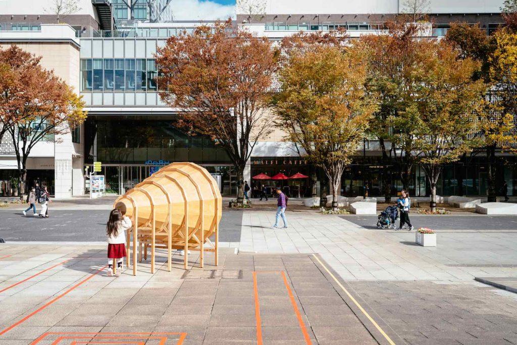 Design Biennale Zürich 2019. 'Fragments of sound' by Toru Wada.
