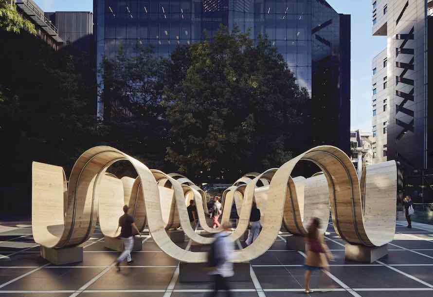 8 design installations in London