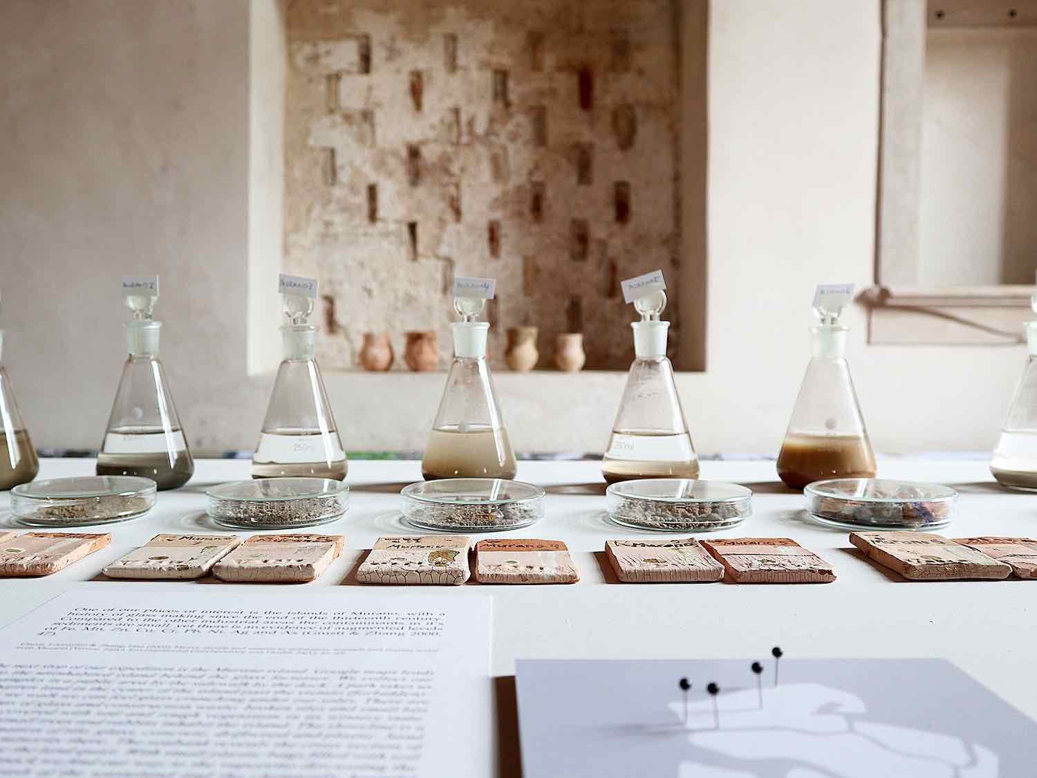 Helsinki Design Week 2019. Traces from antropocene soil group - Photo by Tzu Yu Chen