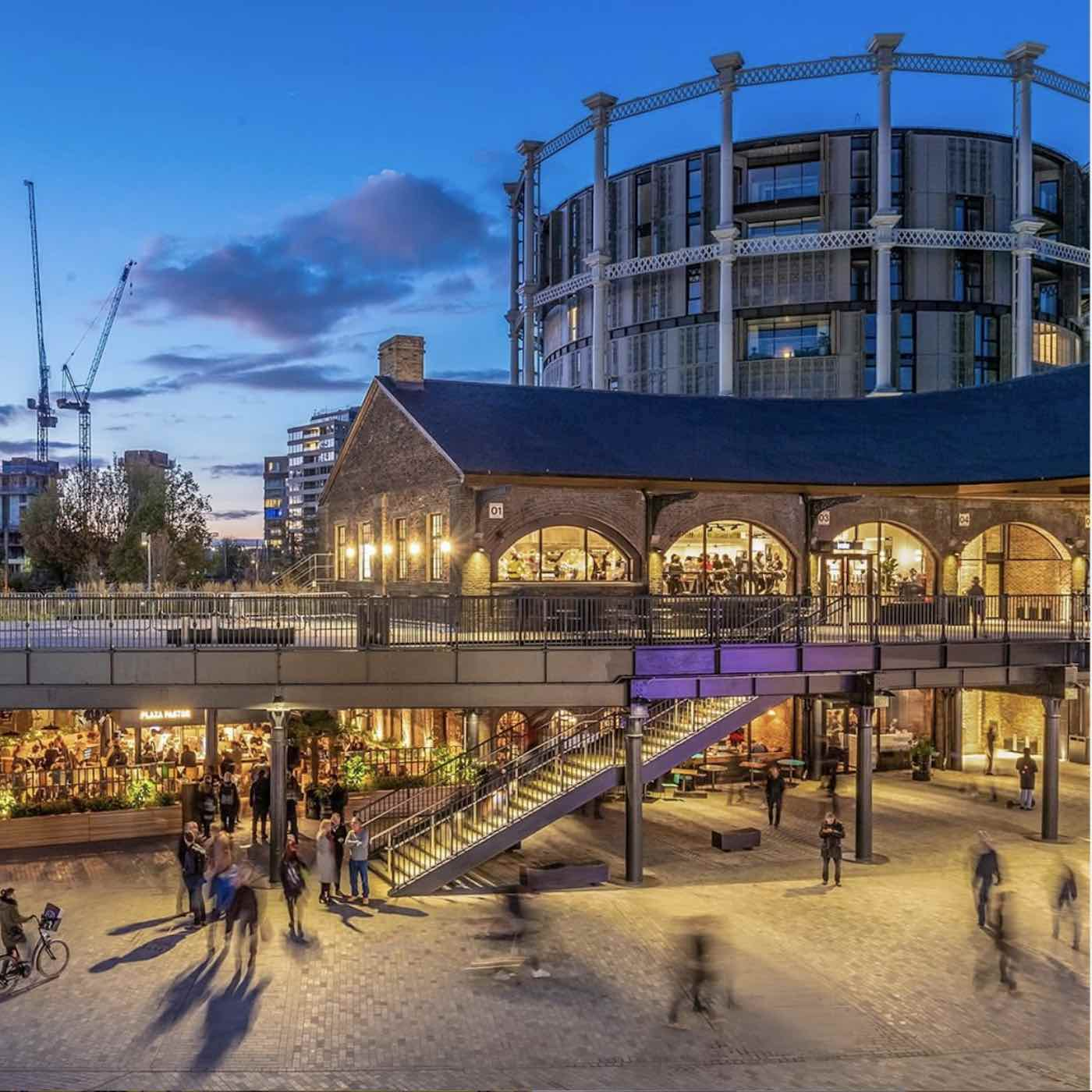 LDF2019 leading trade destinations. Coal Drops Yard @ Kings Cross Design District - Photo via IG by @designjunction