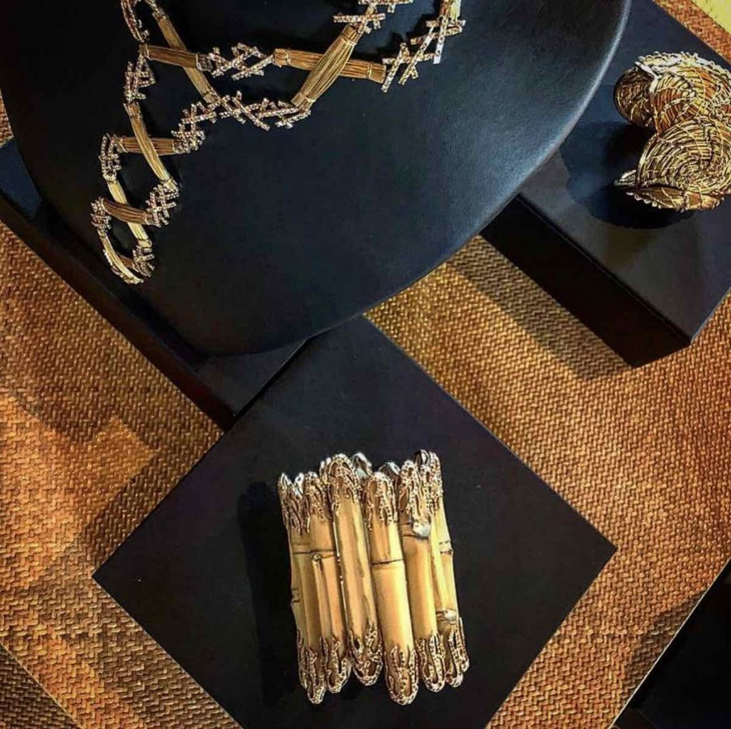 NomadVenice2019 - Jewelry by the Campana Brothers for Fabio Salini - Photo via IG by @nicolapaccagnella