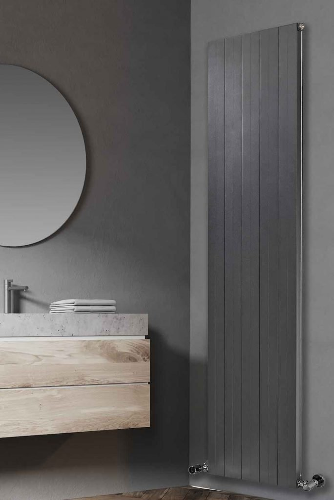 Cersaie 2019 - FINO radiator by RIDEA - Photo courtesy of RIDEA.