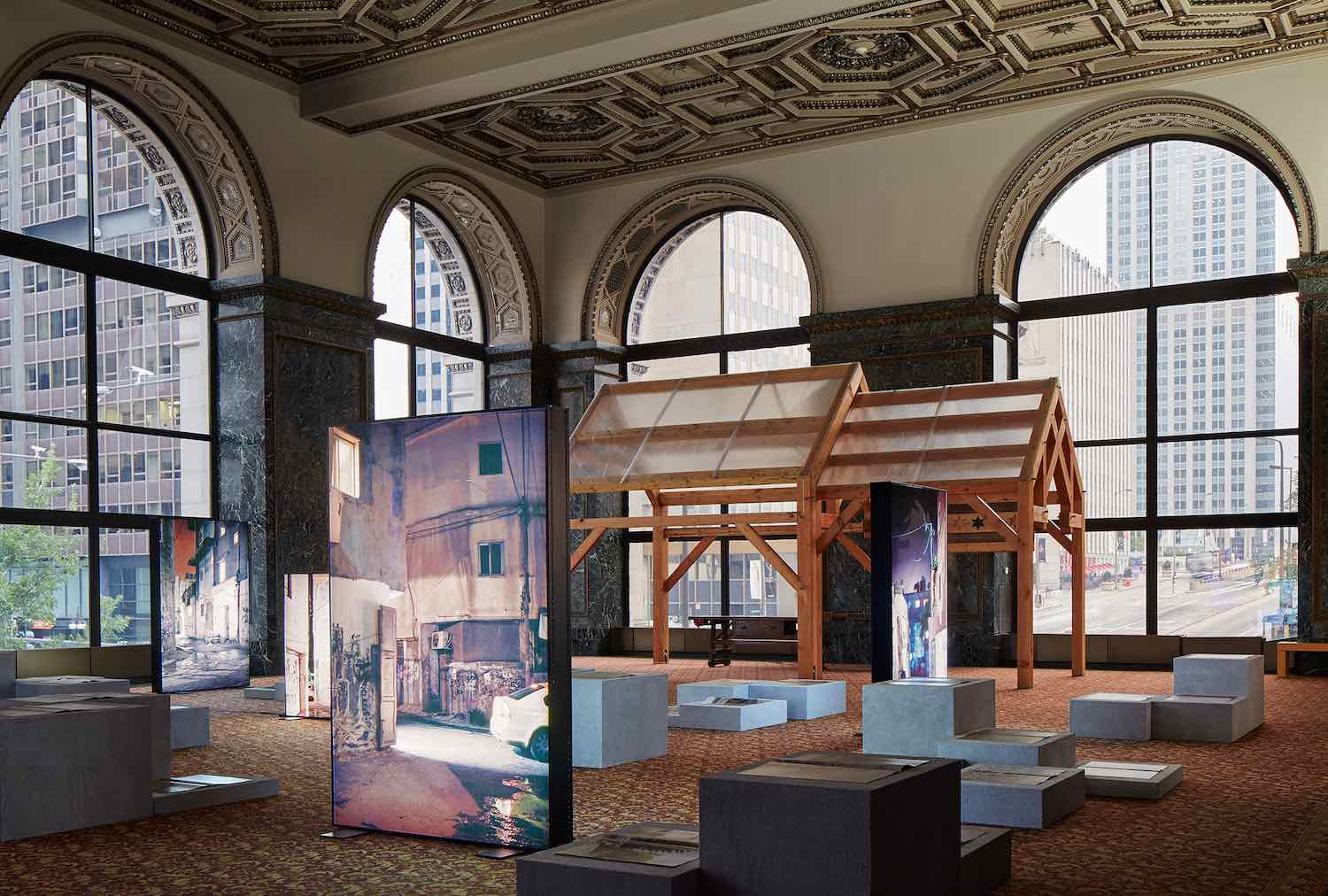Chicago Architecture Biennial 2019 - Photo by Kendall McCaugherty.