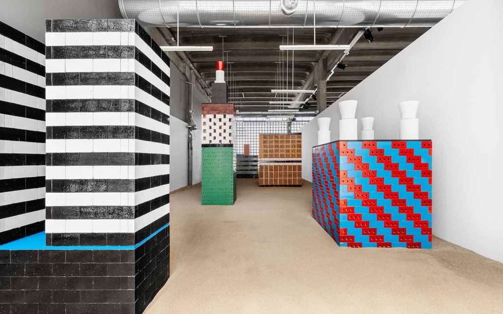 BRIC exhibition. Nathalie du Pasquier x Mutina for Art - Photo by Mutina
