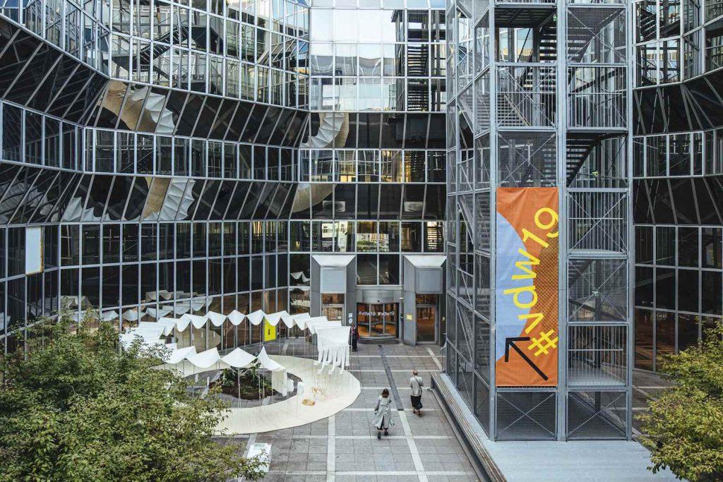 Vienna Design Week 2019. Bananatex Fibers installation by QWSTION - Copyright VIENNA DESIGN WEEK-Kollektiv Fischka-Maria Noisternig, Vienna Design Week)