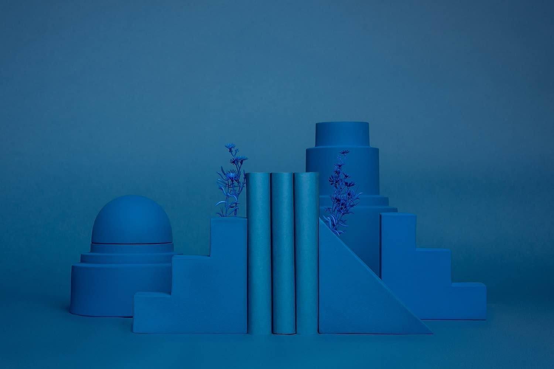 Romina Gris' architectural SKYLINE ceramics - Courtesy of Romina Gris.