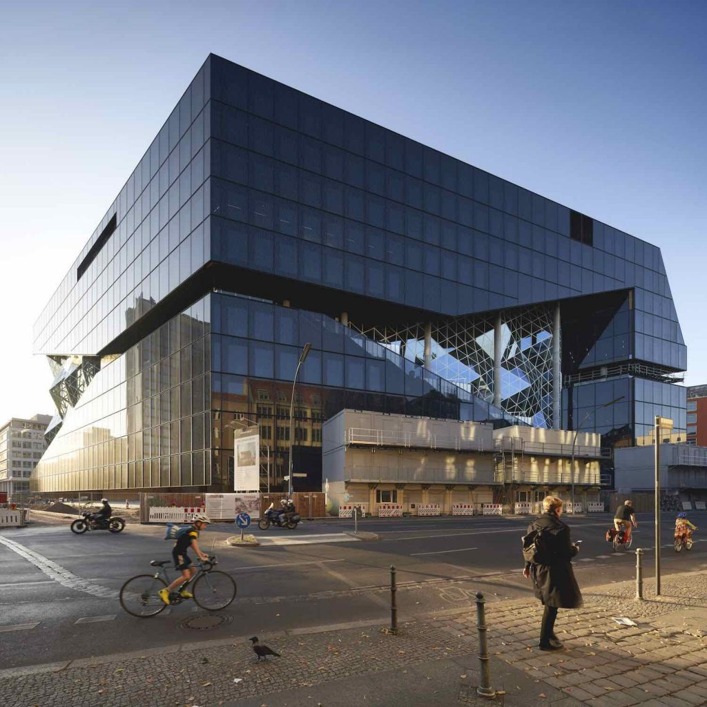 OMA's Axel Springer Campus - Photo by Niels Koenning - Courtesy of OMA.
