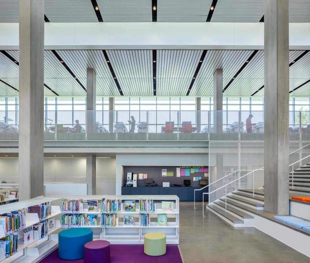 John Ronan Architects' Independence Library & Apartments - Photo by James Florio, courtesy of JRA.