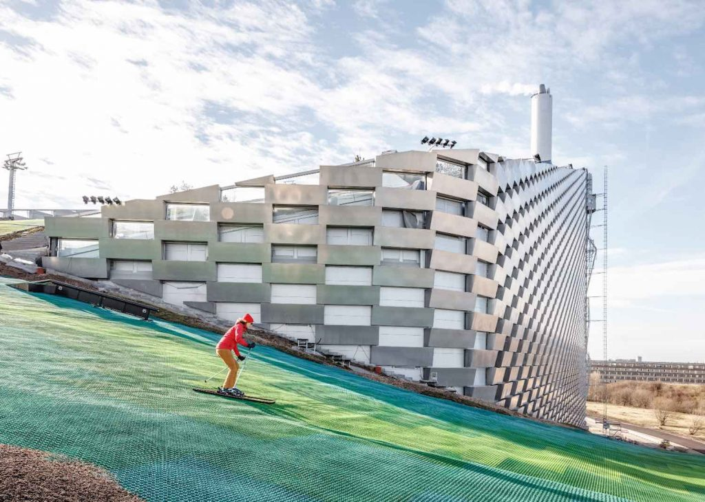 CopenHill Power Plant by BIG - Bjarke Ingels Group - Photo by Rasmus Hjortshoj.