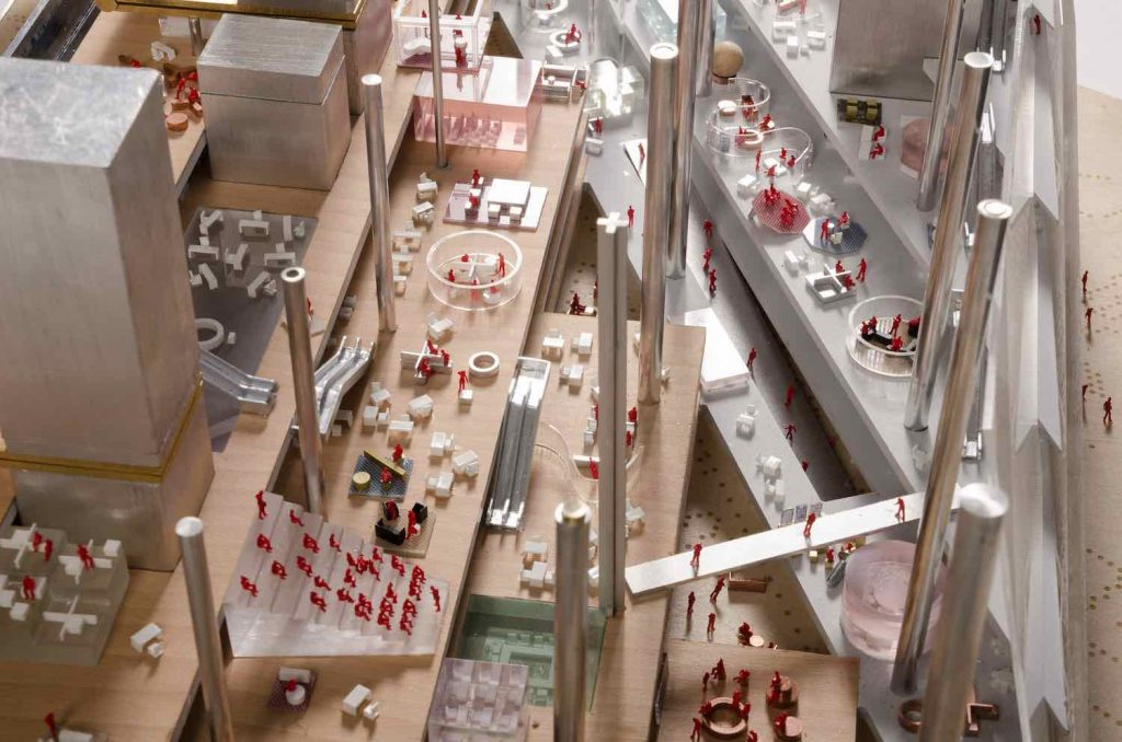 OMA's Axel Springer Campus - Photo Frans Parthesius.