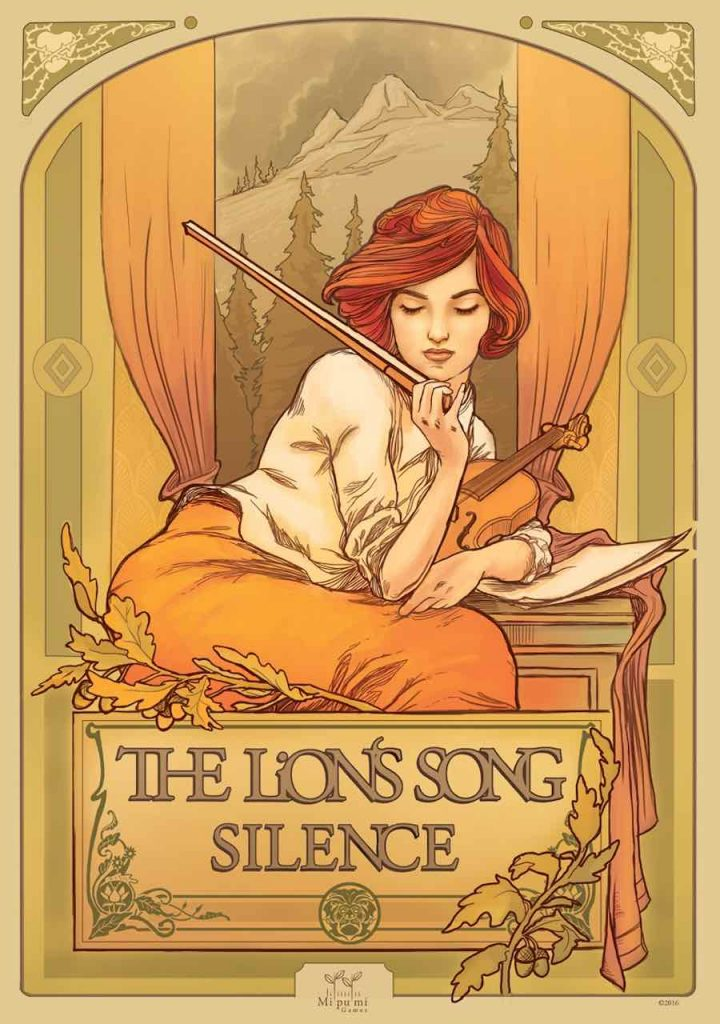 The Lions Song 'Silence' - Photo by Mipumi Games, Stefan Srb aka LeafThief and Vienna Design Week.)