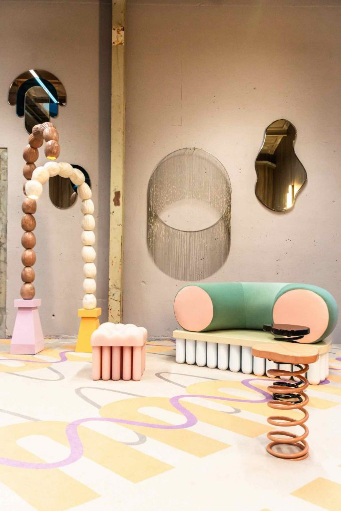 Fluid Forces exhibition by ELLE DECORATION at Dutch Design Week 2019 - Photo by Britt Roelse.