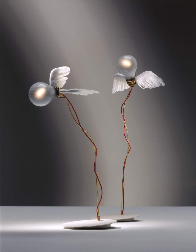 Ingo Maurer Luccelino Table lamp 1992 - Photo by Ingo Maurer GmbH