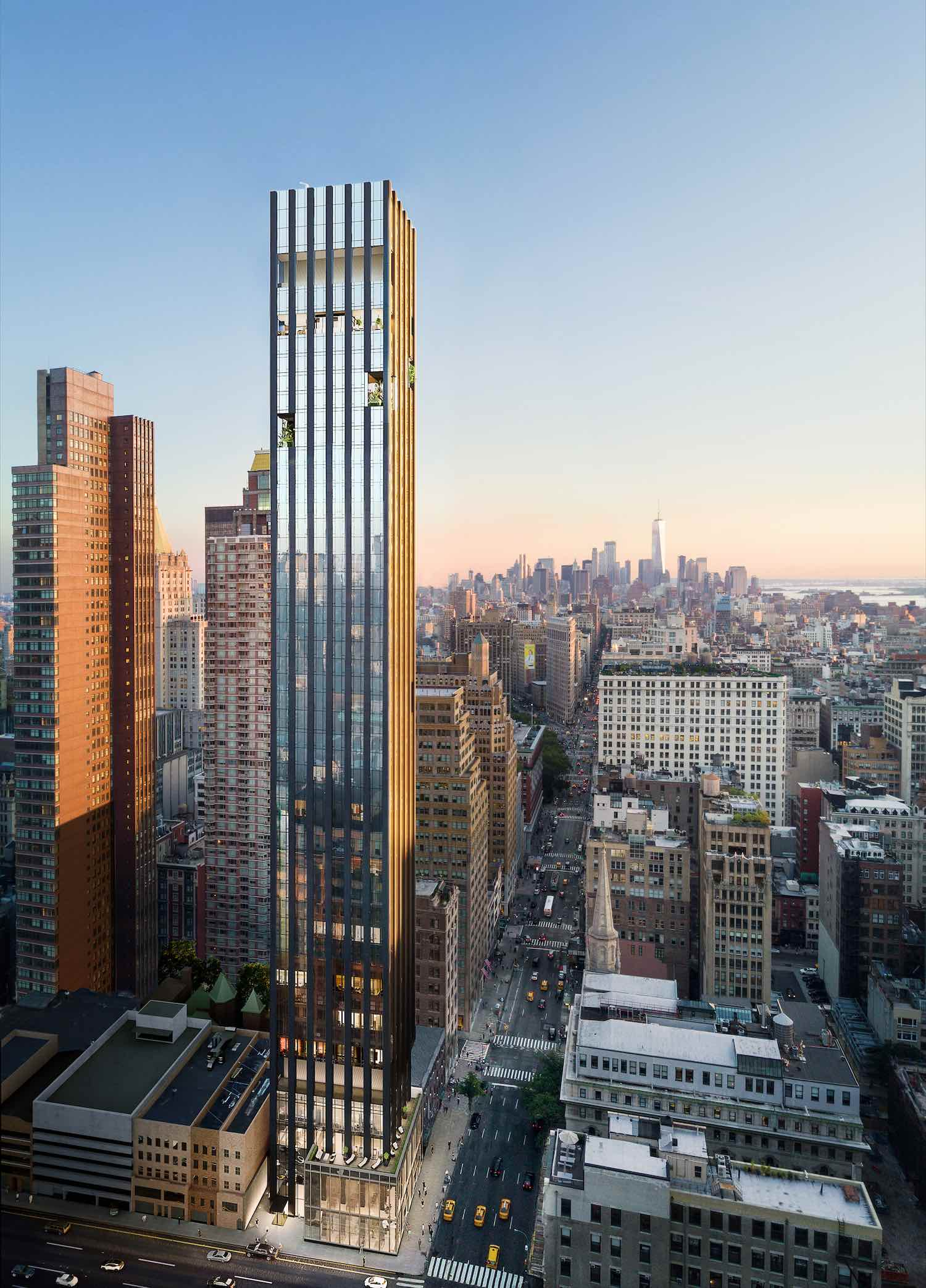 277 Fifth Avenue by Rafael Viñoly Architects © Rafael Viñoly Architects.