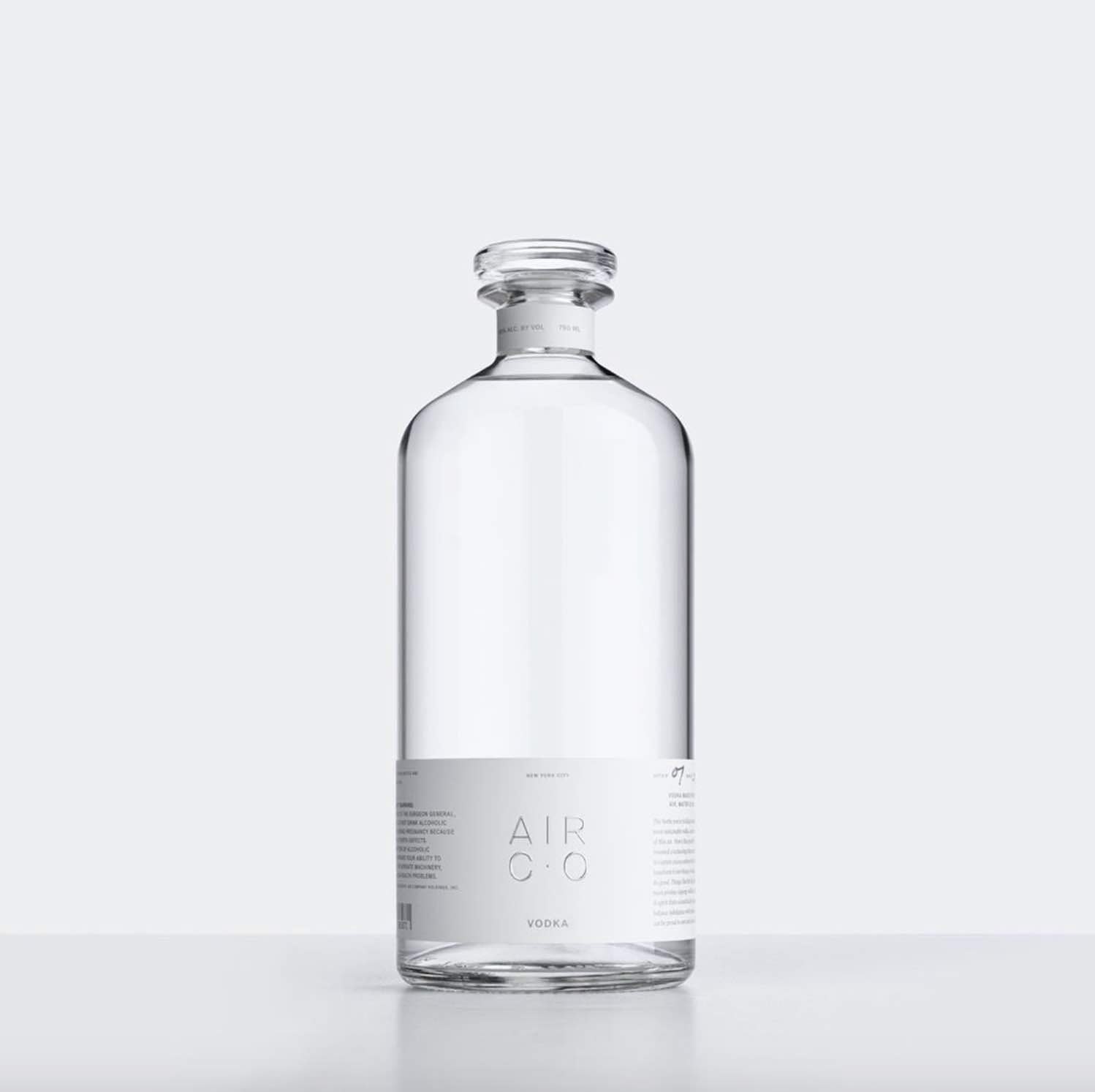 Air co. vodka by Joe Ducet x Partners - Photo via IG by @aircompany.