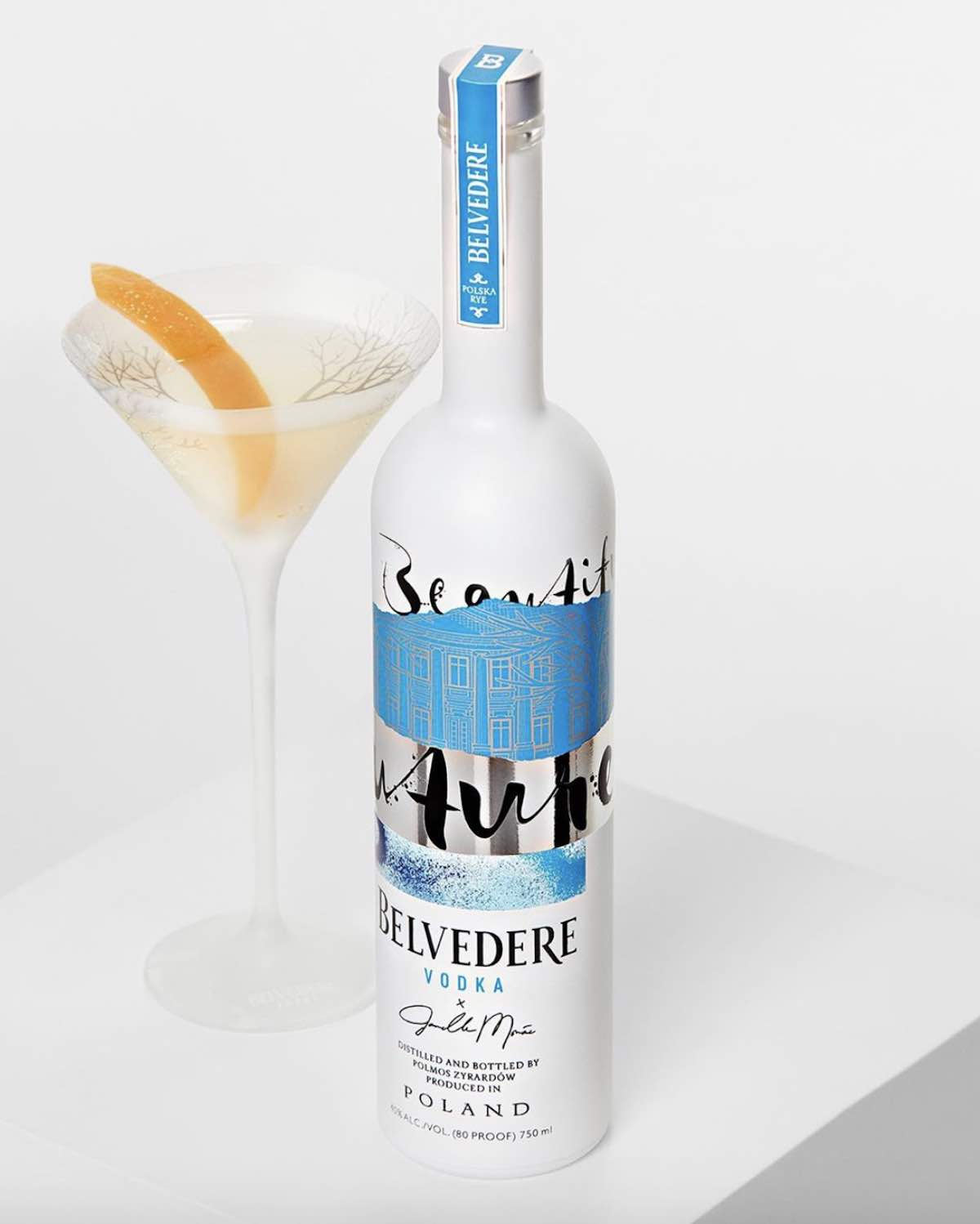 Belvedere vodka A BEAUTIFUL FUTURE, Janelle Monae's limited edition - Photo via IG by @belvederevodka.