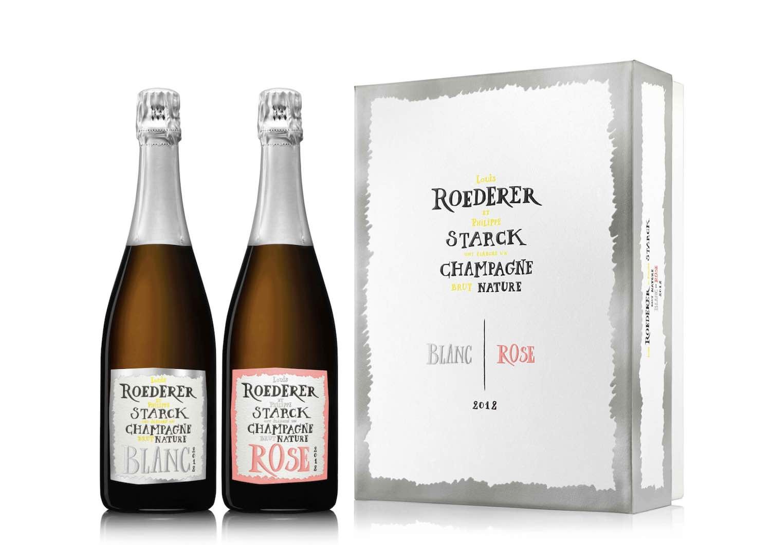 Brut by Philippe Stark for Louis Roederer Champagne House - Photo by Philipe Stark Network.