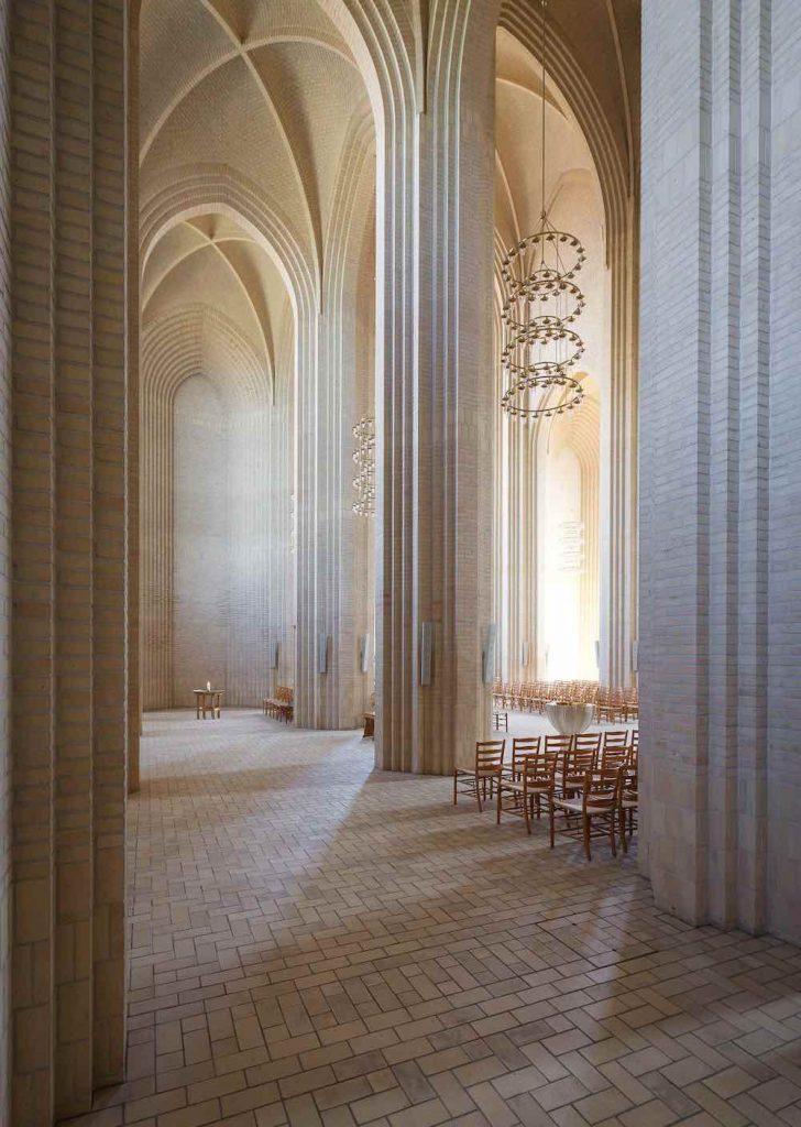 Grundtvig's Church -Photo by Peder Jensen-Klint.