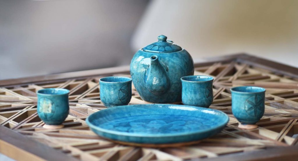 Istalifi ceramics - Courtesy of Dubai Design Week 2019.