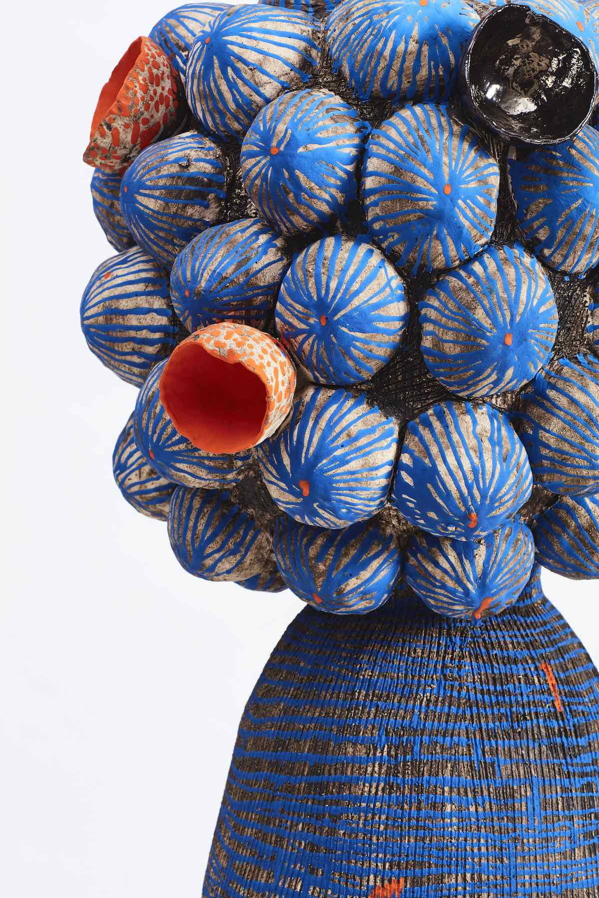 MAGODI ABONGILE vase by Zizipho Poswa - Photo by Hayden Phipps, courtesy of Southern Guild.