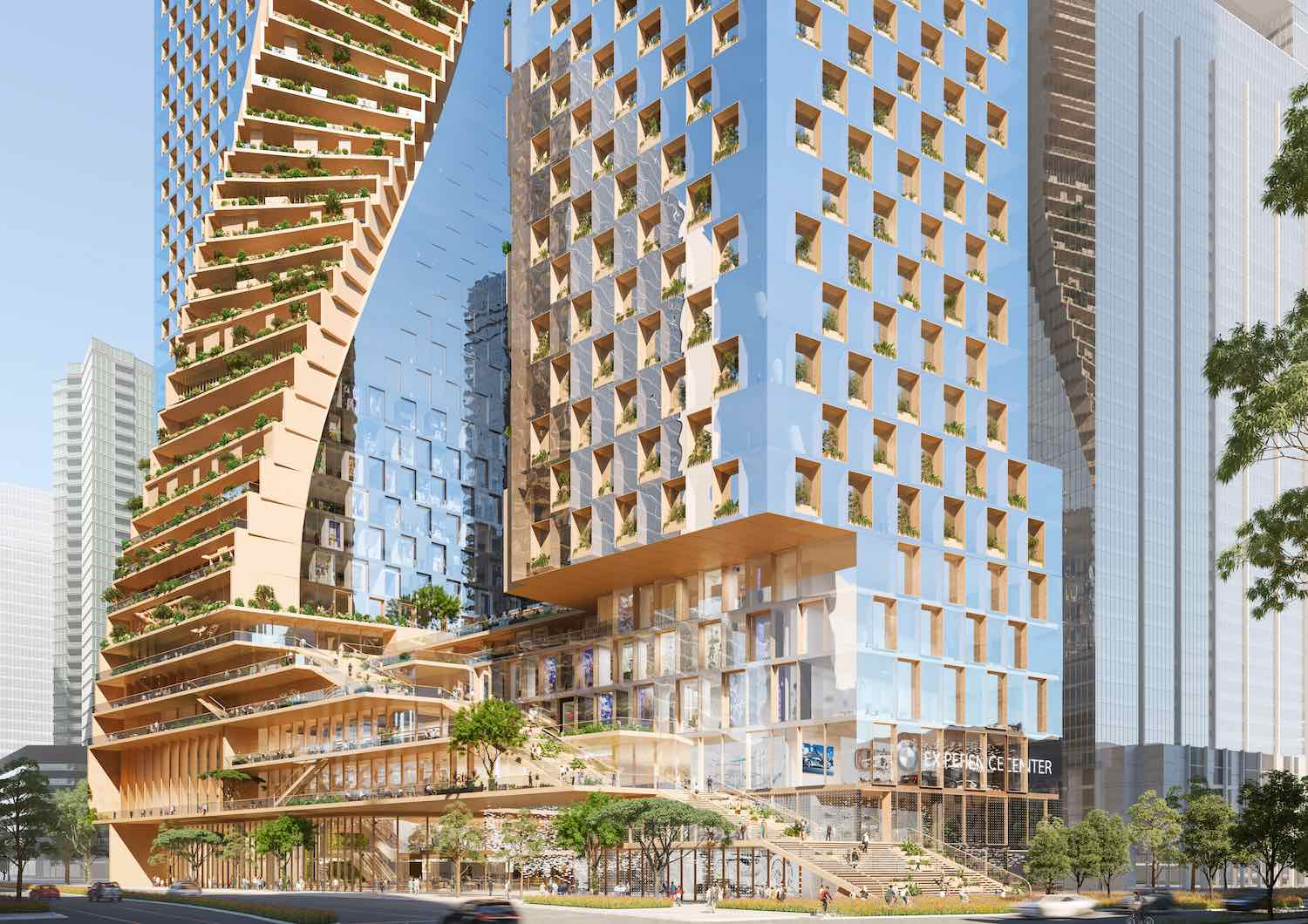 Southbank by Beluah by UNStudio and COX Architecture -© COX Architecture and Norm Li.