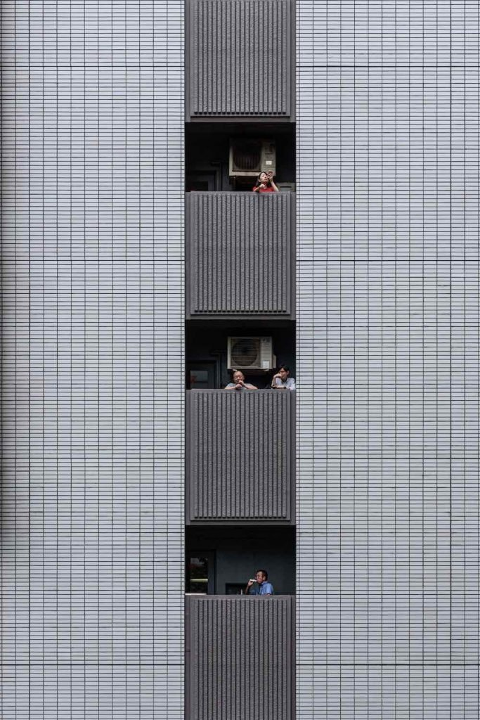 Tokyo's Office building - Photo by Yi-Hsien Lee.