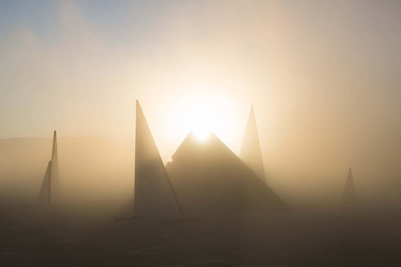 FRAGMENTS installation by Marc Ippon De Ronda @ BurningMan 2019