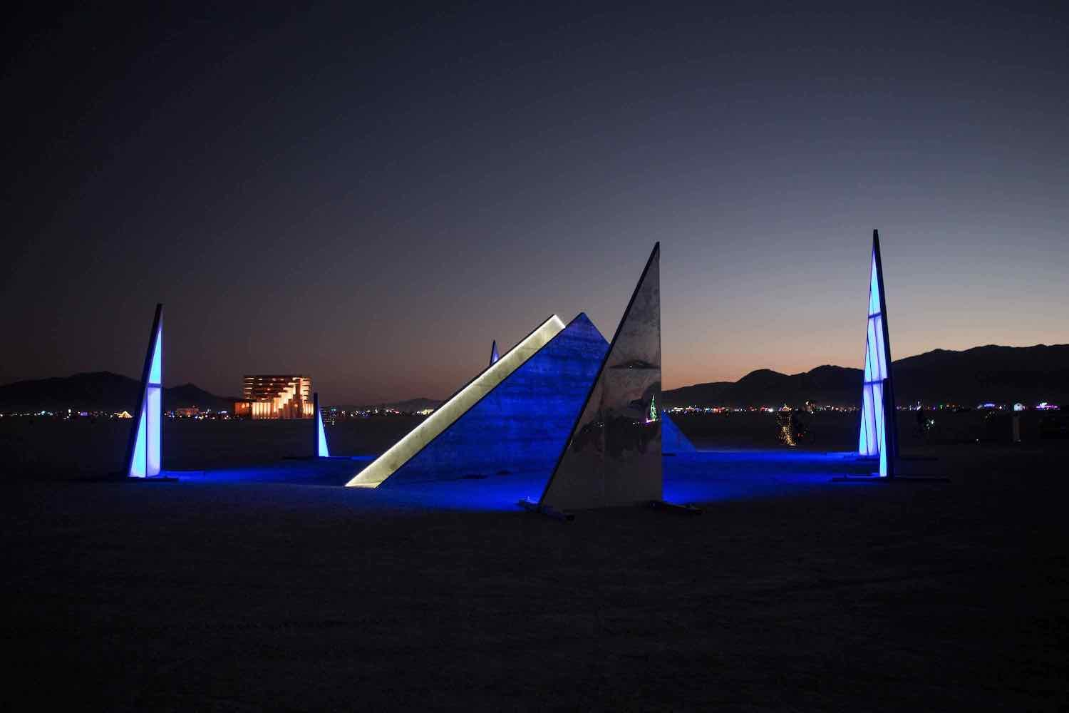 FRAGMENTS installation by Marc Ippon De Ronda @ BurningMan 2019