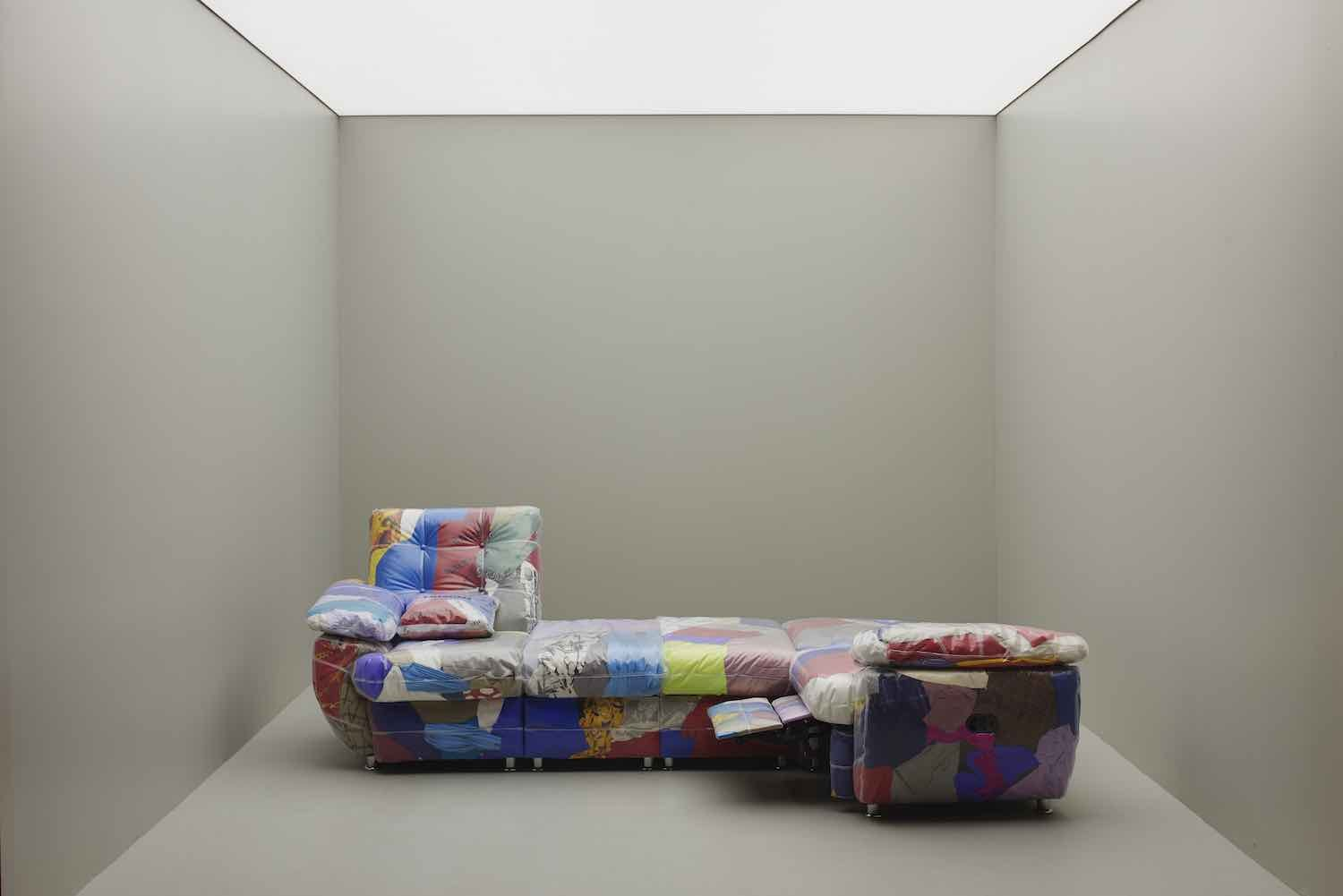 Crosby Studio's BALENCIAGA SOFA by Harry NurIev in collaboration with Balenciaga - Photo by James Harris.