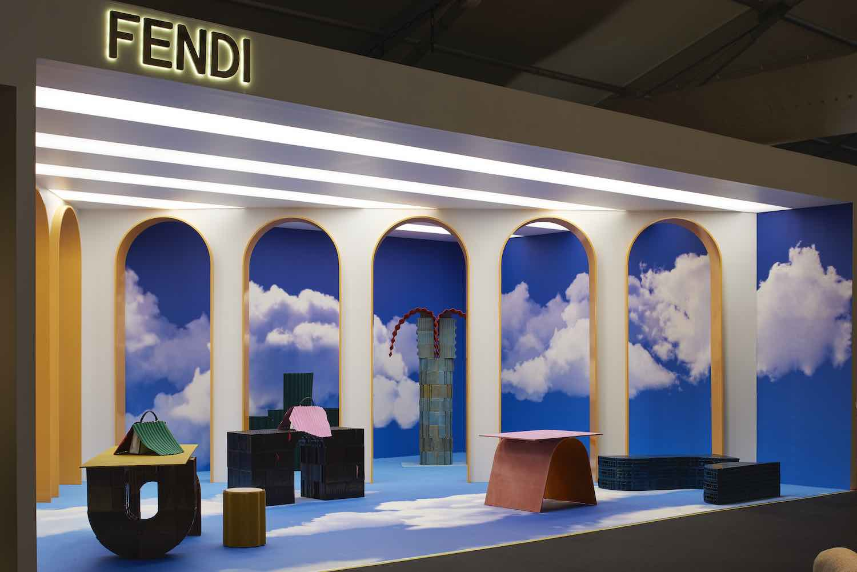 FENDI installation by Kueng Caputo @ DesignMiami - Photo by James Harris.