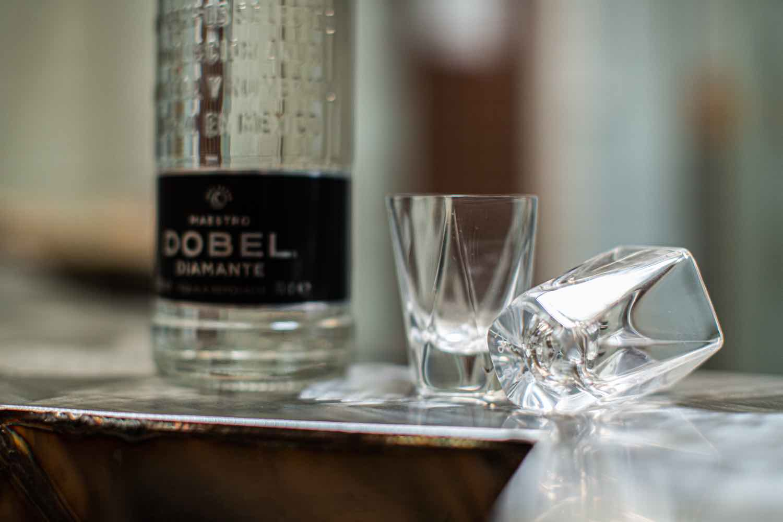 Agave-inspired glasses by Julian Mayor x Maestro DOBEL Tequila - Courtesy of Maestro DOBEL Tequila