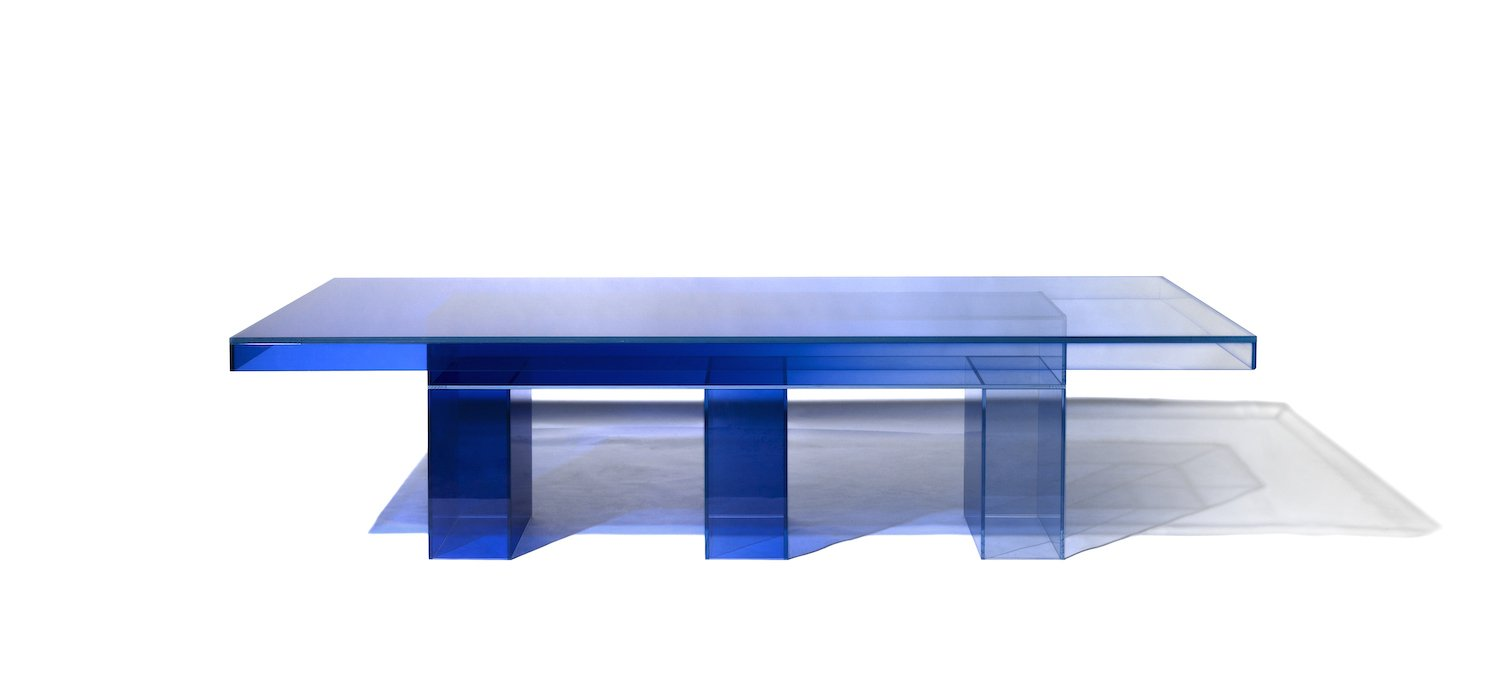 'Null' dining table by Studio Buzao - Courtesy of Gallery ALL and Studio Buzao.