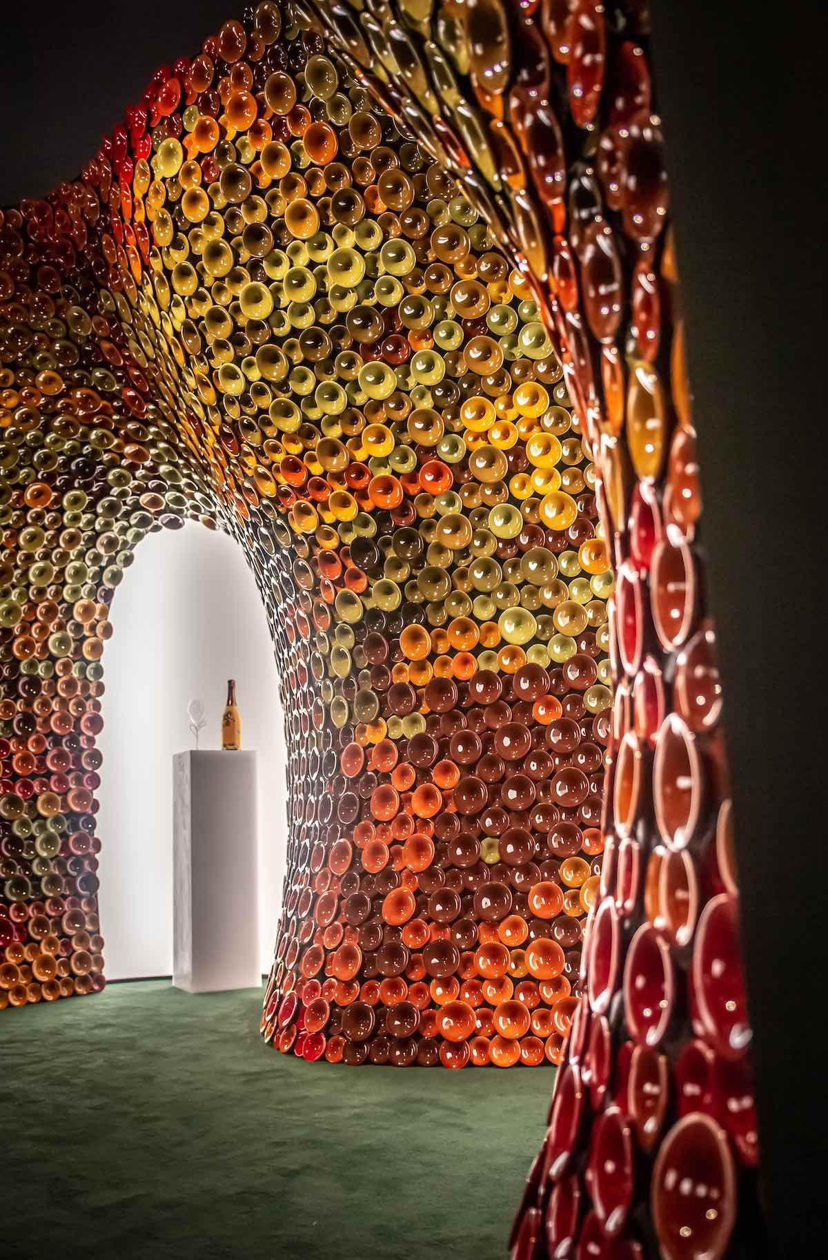 Perrier Jouët Booth by Andrea Mancuso @ DesignMiami/ 2019 - Courtesy of Maison Perrier Jouët.