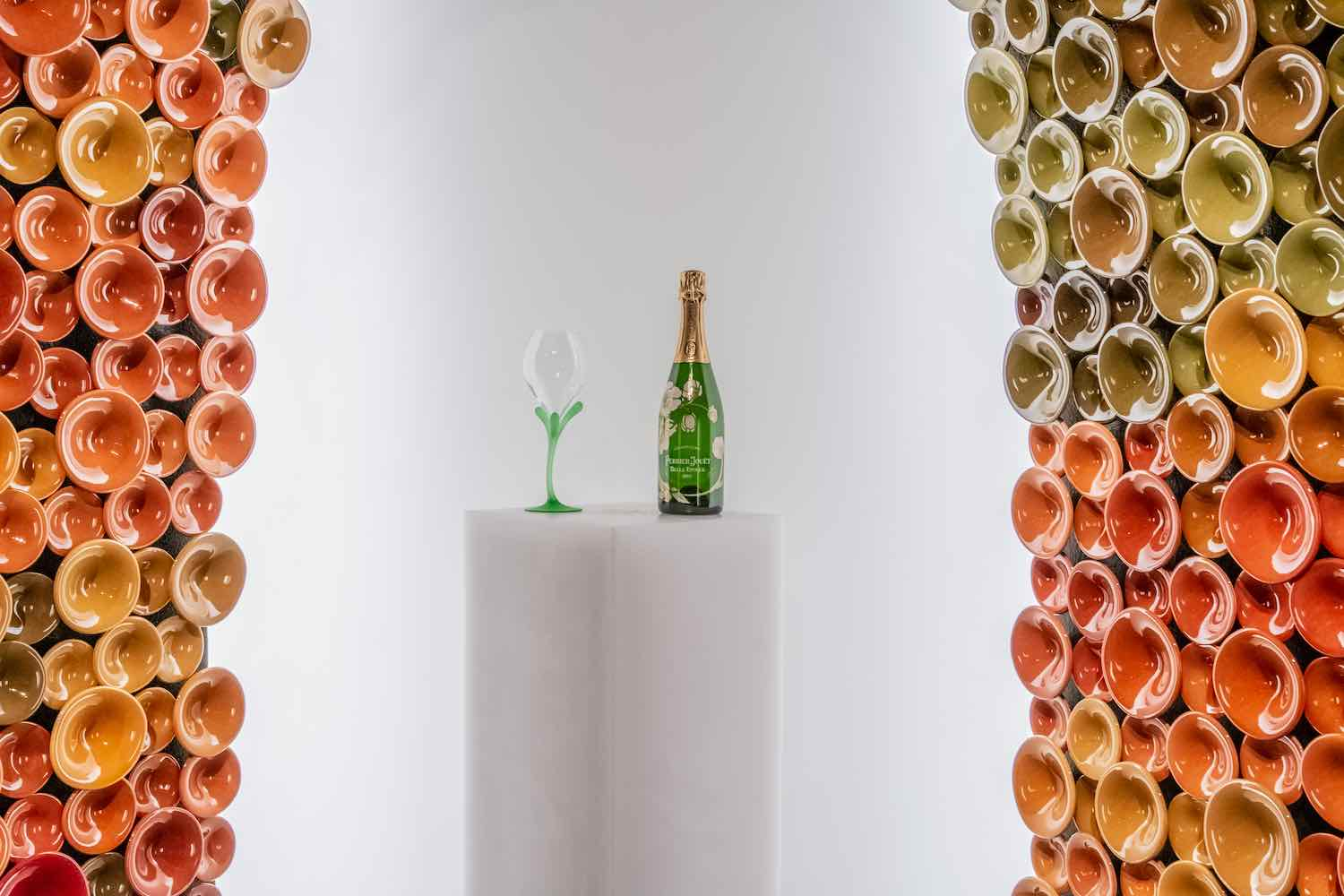 Perrier Jouët's METAMORPHOSIS installation by Andrea Mancuso @ DesignMiami/ 2019 - Courtesy of Maison Perrier Jouët.