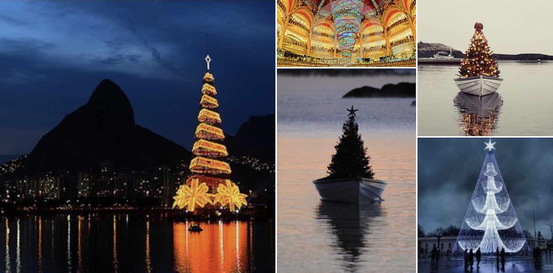 Pinterest - Design Christmas trees.