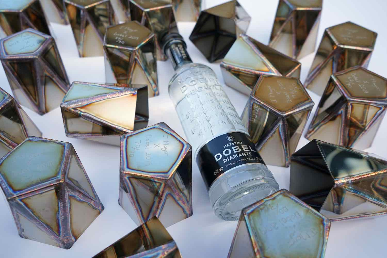 Steel cups by Julian Mayor x Maestro DOBEL Tequila - Courtesy of Maestro DOBEL Tequila