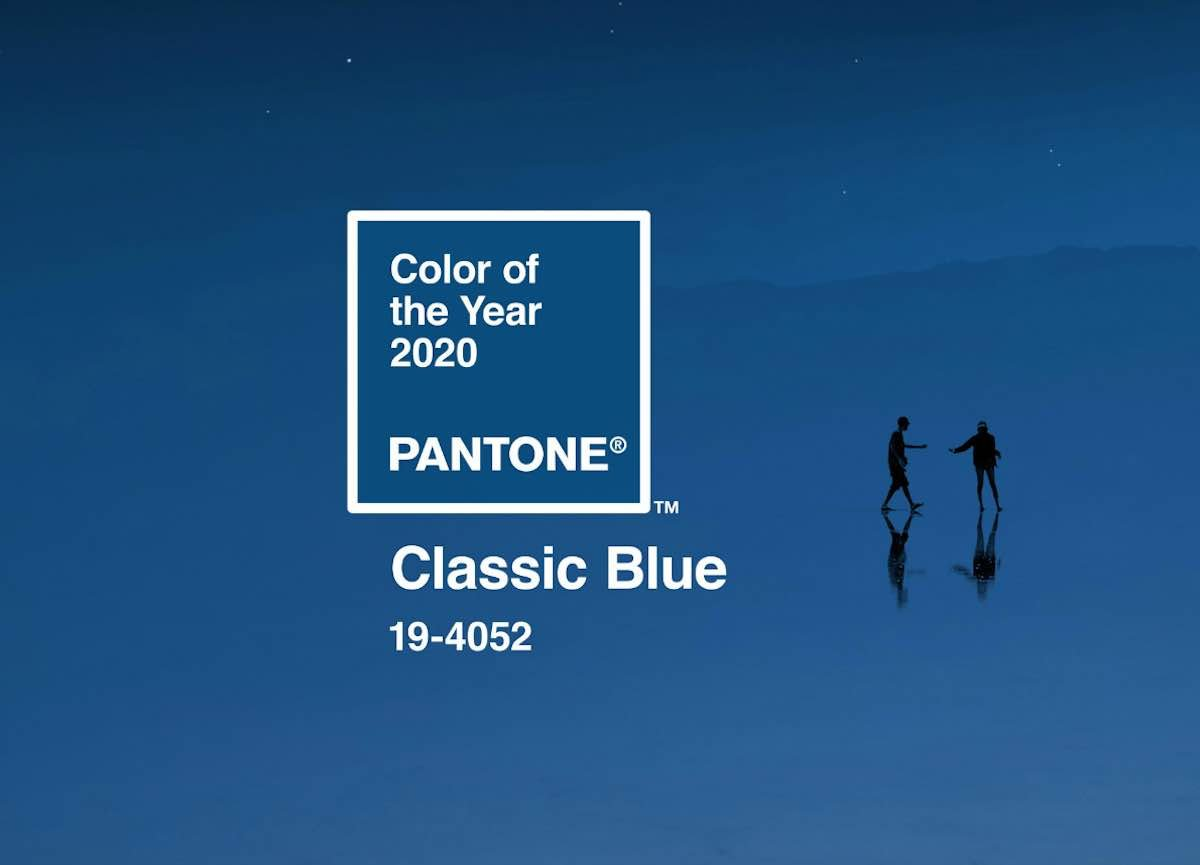 CLASSIC BLUE - Pantone Colour of The Year 2020.